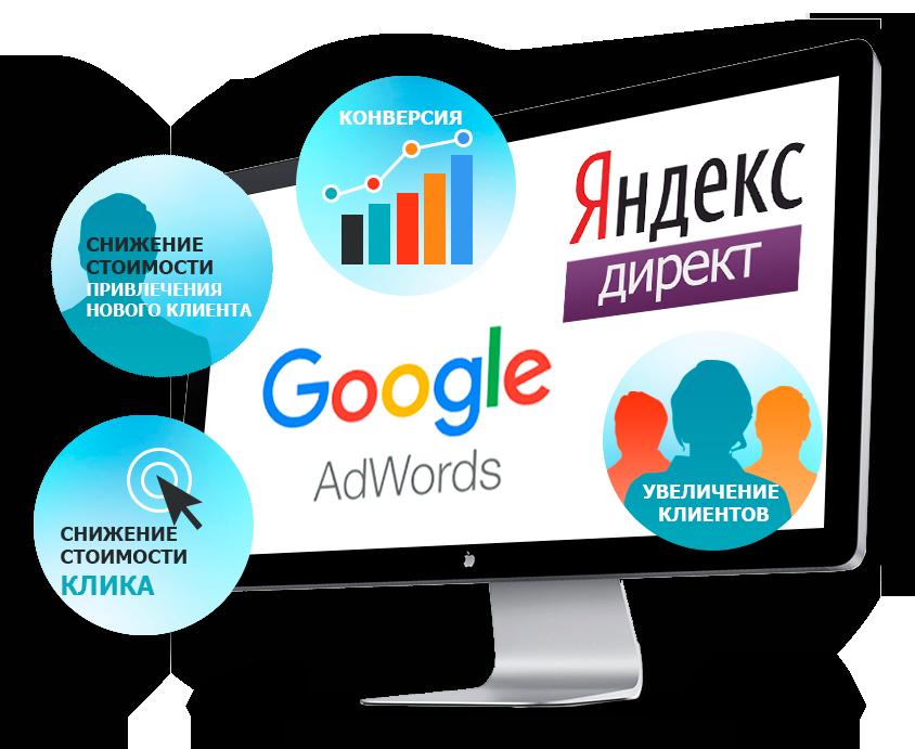 Курc по контекстной рекламе Google Adwords и Яндекс Директ